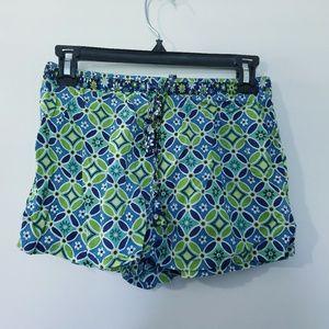 Vera Bradley Womens Pajama Shorts Size XS